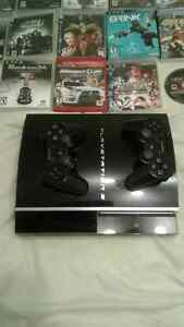 Playstation3 120GB  20 games (20 jeux)