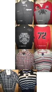 Lots de vêtements marques Avirex, Ecko, Volcom ++