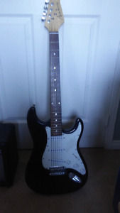 Academy electric guitar with amp