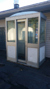 Scale hut,Gas pump hut or ticket booth