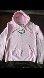 Gilly Hicks sz med pink hoodie like new