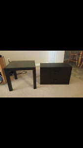 Dresser and Table for sale