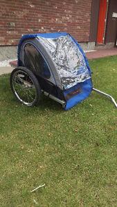 $180 - Schwinn 2 seater bike charriot