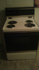 Frig+stove DELIVER INCL