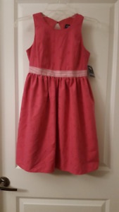 Girl's Chaps Lined Sleeveless Dress - Size 12 - New With Tag