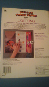 Lion King Sound book