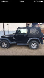 2001 Jeep TJ SUV, Crossover