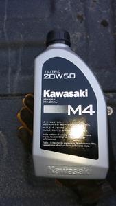 Kawasaki M4 oil x3