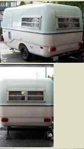 Triple E Surfside Fiberglass Trailer for Rent! Similar to Boler