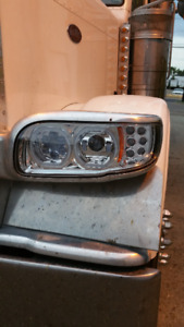 Peterbilt 389 complete led headlight