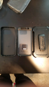 Samsung s6 otterbox case with holster and screen protector