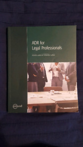 ADR FOR LEGAL PROFESSIONALS