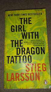 Girl with dragon tattoo paperback great condition