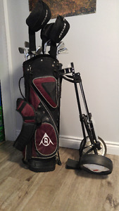 Mens LH Dunlop golf clubs