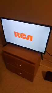25 inches Rca flat screen TV with DVD player built in