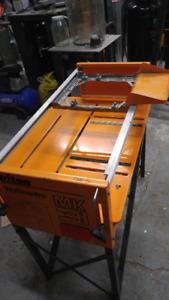 Triton table saw attachment for circular saw.