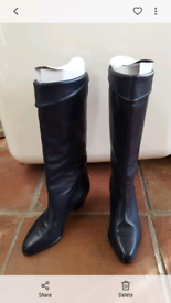 eded06a6b7ad8 Leather boots 5 for Sale | Women's Boots | Gumtree