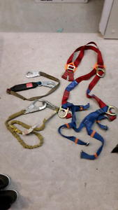 Safety harness & lanyards