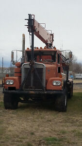 10 ton National Crane Truck Boom Picker , 1973 Kenworth Truck
