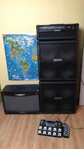 Crate GT1200H 120W & cabinets