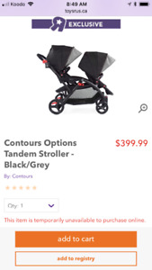 Contours Double Stroller *new*