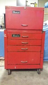 Snapon tool cabinet and box