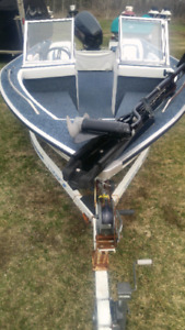 SOLD PENDING PICK-UP 18 foot StarCraft fishing boat Ex C.O. Boat