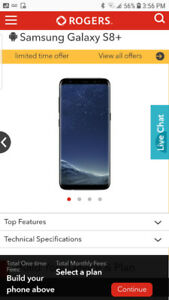 Galaxy S8+ BRAND NEW IN BOXRogers: Can Be Unlocked