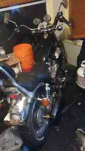 1984 yamaha virago xv 750 looking for 650 OBO or trade for ATV