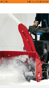 Are you in need of snow removal? Give us a call!