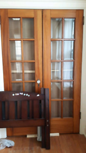 French Double Doors - High Quality, Excellent Condition!
