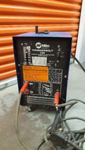 Miller Thunderbolt 225 AC Arc Welder and electrodes