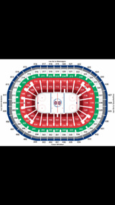MANY MONTREAL CANADIENS TICKETS FOR SALE TO LOTS OF HOME GAMES