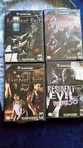 collection resident evil gamecube