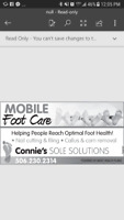 Foot Care Service in Cumberland County and Truro