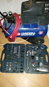 Compressor with tools