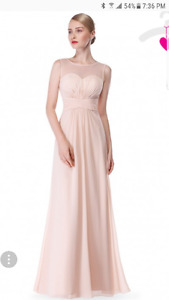 Robe de bal\suivante - Prom or bridesmaid dress