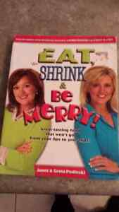 Eat, Shrink, and Be Merry Cookbook London Ontario image 1