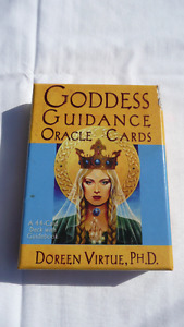 GODDESS Guidance ORACLE CARDS & Book ** Doreen Virtue