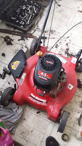Two push mowers for parts or repair $30