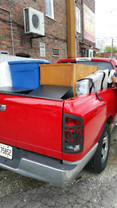 Pick up truck for hire. Beds, couches, small moves, delivery