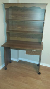 Desk with hutch top for sale