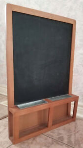 Ikea Magnetic Chalk Board Home Decor Perfect for Keys Mails