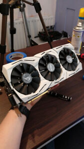GTX 1080ti Strix OC (Custom White Modded)