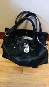 NEW PRICE!!  Michael Kors black leather purse