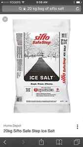20kg bags of sifto salt