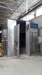 PAINT BOOTHS:  POWDER SYSTEMS
