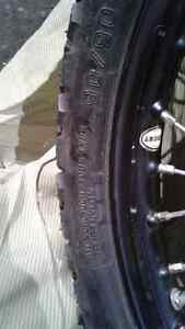 """2 Motorcycle front wheel 90/90-21 .54S New (21""""rim) West Island Greater Montréal image 8"""