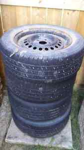 205/60r15in tires and rims.