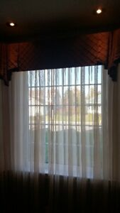 Sheers and Valances for Sale